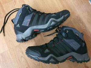 ADIDAS Terrex AX2 Mid GTX Herren Trekking Schuhe 43 1/3 Boots GoreTex Wandern