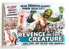 Revenge of the Creature FRIDGE MAGNET (2.5 x 3.5 inches) movie poster lagoon hs