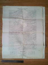 Department of Defence DND Army Survey Map Whitefish Falls Ontario Canada Topogra