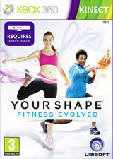 Your Shape: Fitness Evolved ~ Kinect XBox 360 Game (in Good Condition)