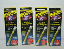 4 Alcohol Breathalyzer Driving Single Use Test Accurate Dui Blow Legal Tube