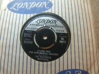 "Righteous Brothers – (I Love You) For Sentimental Reasons 1965 7"" London 10011"