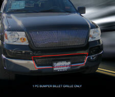 Fits 2004 2005 Ford F-150 F150 Billet Grille Grill Lower Bumper Vertical