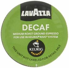 Lavazza Decaf, Espresso 200 Packs for Keurig Rivo Systems read des