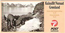 Greenland 2000 Heritage, Map & Sealskin, 55.5DKK Booklet complete. UNM / MNH