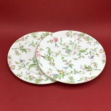 Wedgwood Pair Of Sweet Plum Accent 27cm Dinner Plates - Brand New Factory 2nds