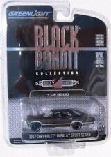 GREENLIGHT BLACK BANDIT SERIES 9 1967 CHEVROLET IMPALA SPORT SEDAN 1/4,500