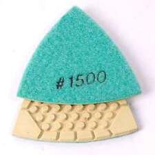 Brttd1500Specialty Diamond Brttd1500 Diamond Triangular Dry Pad with 1500 Grit