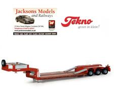 Tekno 58706 Goldhofer STZ-VL3 Lowloader Plain Red 1:50 Scale