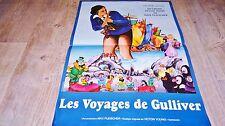 LES VOYAGES DE GULLIVER   ! affiche animation bd dessin