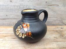 UNBEKANNT Vase / Midcentury Vintage West-Germany Pottery / sign 412 size 9 cm