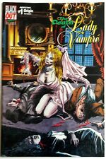 The Death of Lady Vampire #1 Premier Edition Black Out Comics w COA