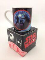 Vintage Star Wars Mug Hamilton Collection Luke Skywalker Darth Vader Jedi Duel