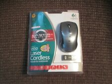 New listing V450 Logitech Laser Cordless Mouse for Notebooks (2006) Factory Sealed