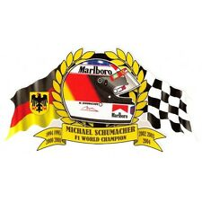 M. SCHUMACHER F1 WORLD Champion Sticker
