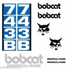 Bobcat 743B 743 B DECALS Stickers Skid Steer loader New Repro decal Kit