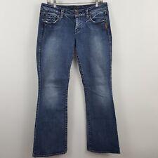 Silver Lola Boot Cut Women's Medium Wash Blue Jeans Size 30 x 33