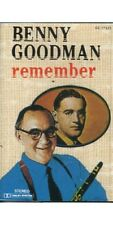 Remember ~ Benny Goodman ~ Jazz ~ Swing ~ Cassette ~ Good