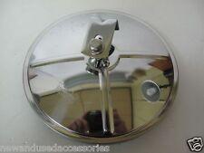 "Stainless 8 1/2"" Spotter mirror + mounting kit Kenworth,Western star,Mack Truck"