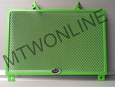 R&G Green Radiator Guard Kawasaki Z900 2017 Brand NEW