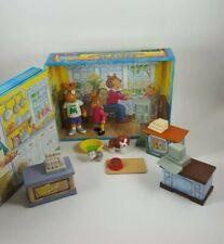 Vintage 1997 Playskool Arthur Folding Playset W/ Figures Pbs Kids D.W. Lot