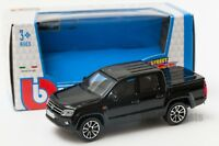Volkswagen Amarok in black, Bburago 18-30232, scale 1:43, toy car model gift