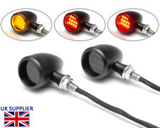 Motorcycle LED Rear Indicators with Stoplight & Taillight - Integrated - PAIR