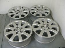 Original VW Jantes en Alliage 6,5x15 ET50 Pour VW Golf V Plus Touran 1K0601025AQ