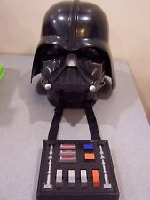 Hasbro Star wars darth vader talking helmet voice changer halloween mask 2004