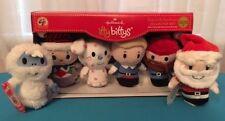 Itty Bittys Hallmark Rudolph Collector Set 6 Misfit Toys Santa Bumble  NWT 50th