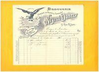 """SAINT-ETIENNE (42) USINE / DROGUERIE PRODUITS CHIMIQUES """"NEYRET & DANCER"""" en1903"""
