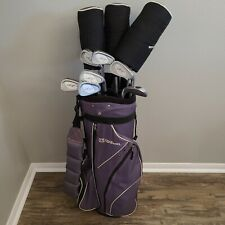 Wilson Hope Women's 10 Piece Golf Club Set & Bag/Hood | Right Hand Ladies Flex