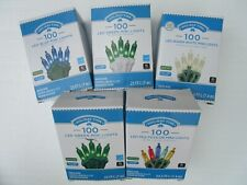 HOLIDAY TIME 100 LED MINI LIGHTS BLUE,GREEN,WARM WHITE.MULTI-COLOR - NEW