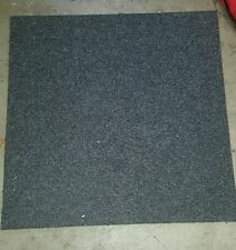 Grey Carpet tile squares 19 3/4x 19 3/4x 1/4 Lot of 10