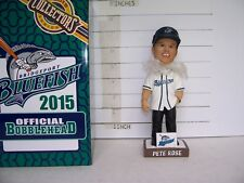 2015 PETE ROSE BRIDGEPORT BLUEFISH SEASON TICKET HOLDER BOBBLEHEAD MINT