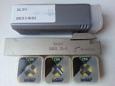 Ghgl 25-5+3 CBN stechplatten gitm - 5.00k-0.40 i850 ISCAR Acciaio Nuovo Incl. 19% IVA.