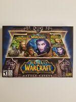 World of Warcraft Battle Chest (Windows PC, MAC 2007) New Open Box