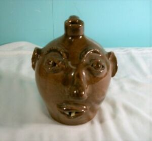Hand Made Face Jug, Brown's Pottery, Arden, NC