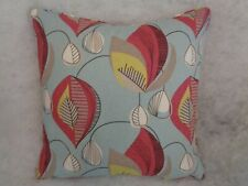 """NEW LISTING STARLIGH IN THE AQUA  COLOURWAY BY CLARKE & CLARKE 22""""CUSHION COVER"""