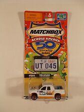 Matchbox Across America 50th Birthday #45 Utah Ford Explorer Sport Trac