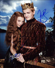 Game of Thrones (Natalie Dormer & Jack Gleeson) signed authentic 8x10 photo COA