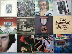 Vinyl LP Records Job Lot~ Prog,Rock,Folk