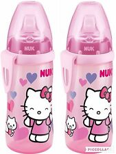 NUK Hello Kitty Active Cup 300 ml, ab 12 Monate, 2er Set neu &ovp