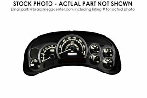 06 LUCERNE Speedometer MPH CXL Without Option UJ8 ID 15809269