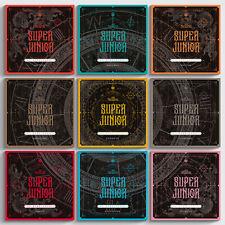 SUPER JUNIOR THE RENAISSANCE SQUARE 10th Album CD+2Book+Poster+3 Photo+Card+GIFT