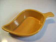 Chantal Yellow Baking Dish Bakeware Casserole Chili Pod Leaf 93 L015 12oz cLOSeT