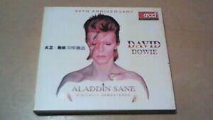 DAVID BOWIE-RARE IMPORT 2CD-ALADDIN SANE-30TH ANNIVERSARY-36 TRACKS-XRCD2-CD