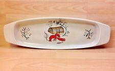 """Fieldings Crown Devon """"Oceania"""" Pattern Long Handled Serving Dish."""