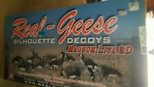 Real Geese Silhouette Decoys Magnum-Lite 3D New