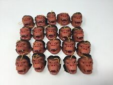 Monkey Bape Ape Head Masks Lot of 20 Vintage Toys Vending Machine 80s